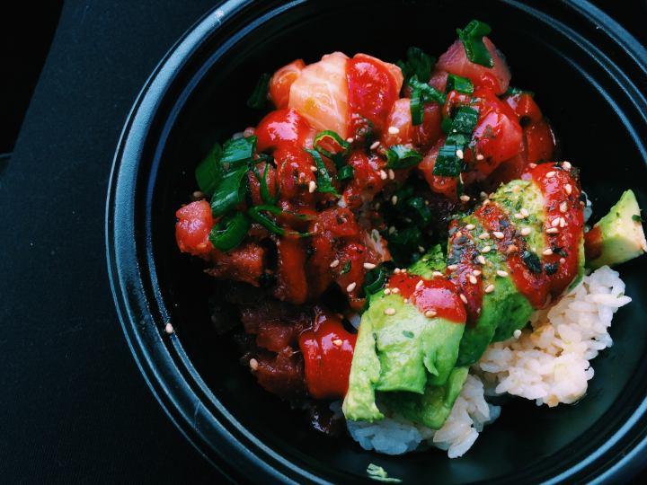 Food Vlog: The Poke Lab, Monterey,Ca