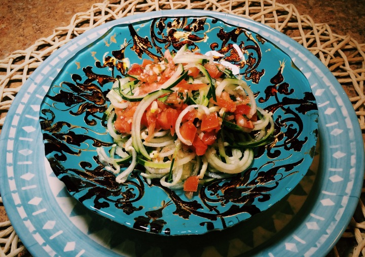 Mid Day Lunch Idea: Cucumber Salad