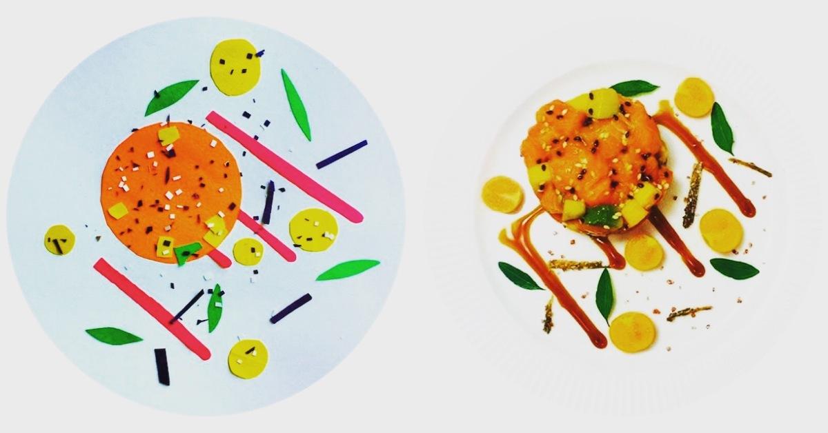 Abstract Food: #2Chefsroll